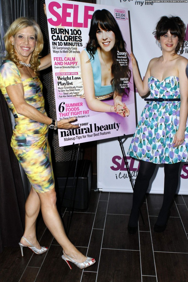 Zooey Deschanel Magazine Posing Hot Magazine Beautiful High