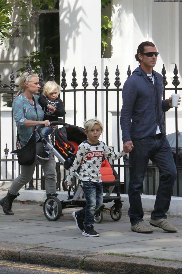 Gwen Stefani Afterwards Husband High Resolution Posing Hot Park