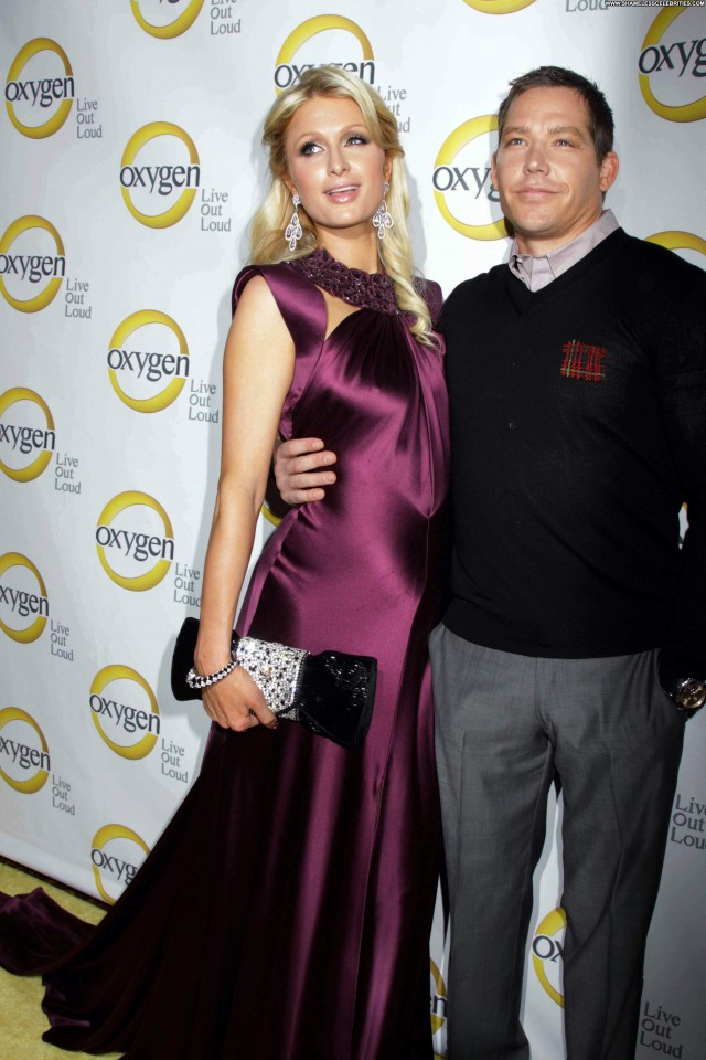 Paris Hilton Oxygen Upfront Presentation  Beautiful Posing Hot