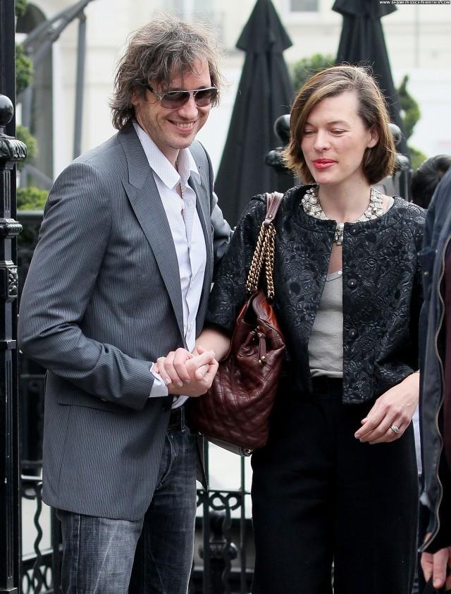 Milla Jovovich No Source  Celebrity Hotel High Resolution Beautiful