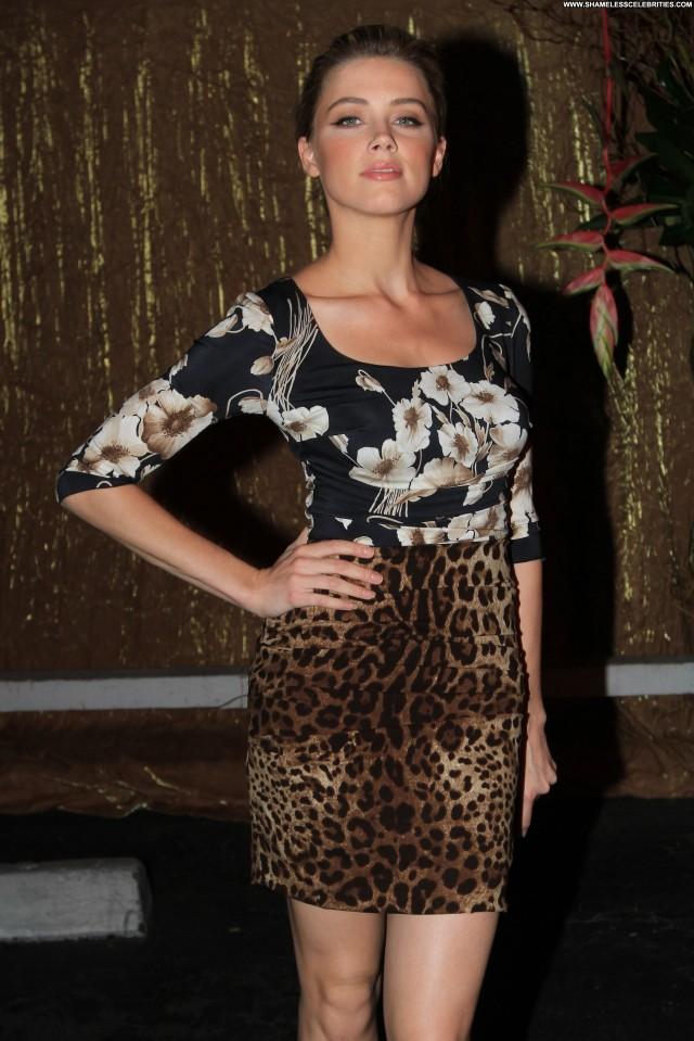 Amber Heard Style Magazine Posing Hot New York Magazine Celebrity
