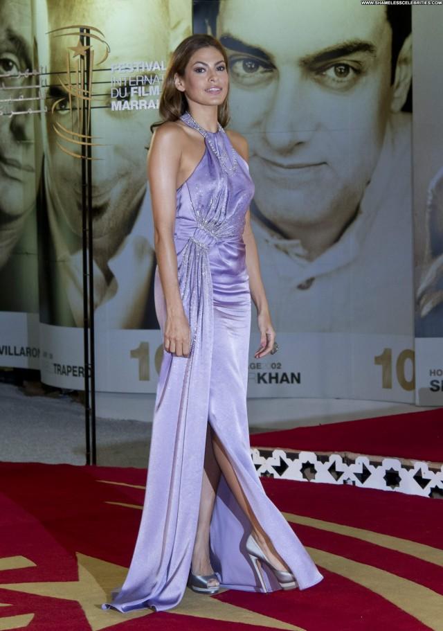 Eva Mendes No Source Beautiful International Posing Hot Babe