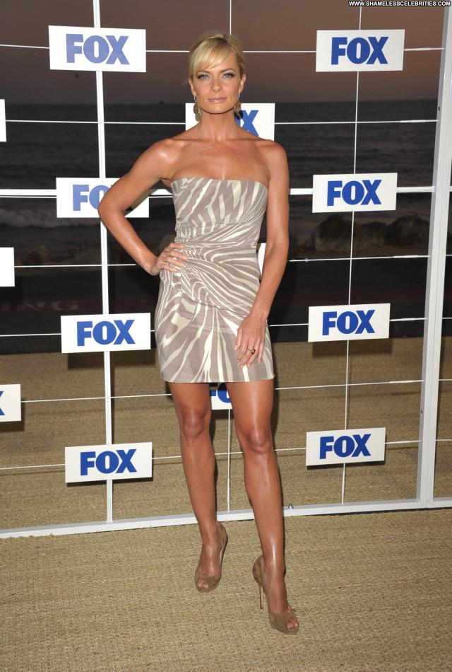 Jaime Pressly Fox All Star Party      In Malibu Celebrity Posing Hot