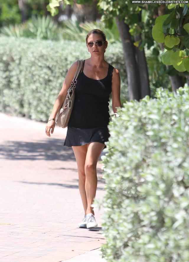 Catherine Zeta Jones Miami Beach Beautiful Babe Posing Hot Celebrity