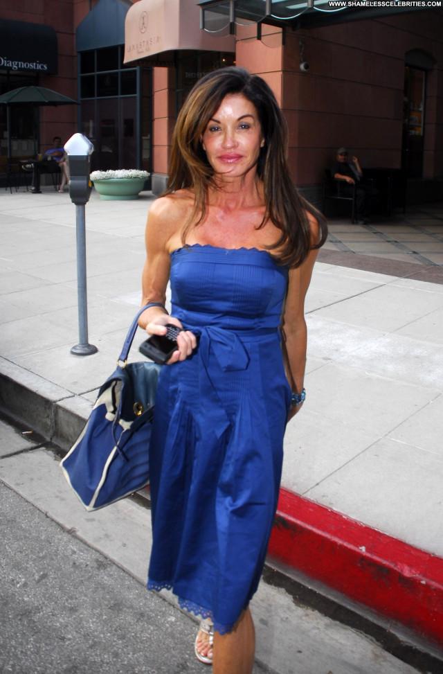 Janice Dickinson Beverly Hills Celebrity High Resolution Beautiful