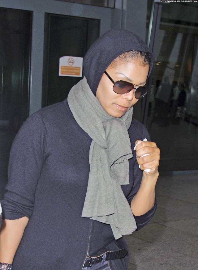 Janet Jackson No Source  Celebrity Posing Hot Babe Beautiful Paris