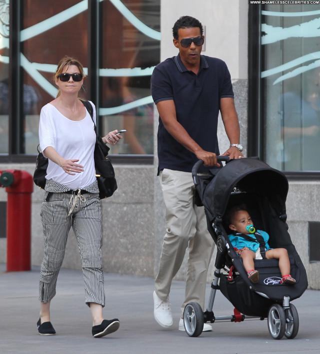 Ellen Pompeo New York Daughter Babe Husband Celebrity Beautiful