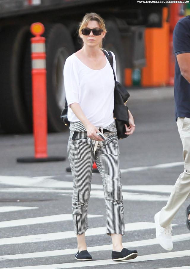 Ellen Pompeo New York Babe Posing Hot Celebrity Husband Beautiful