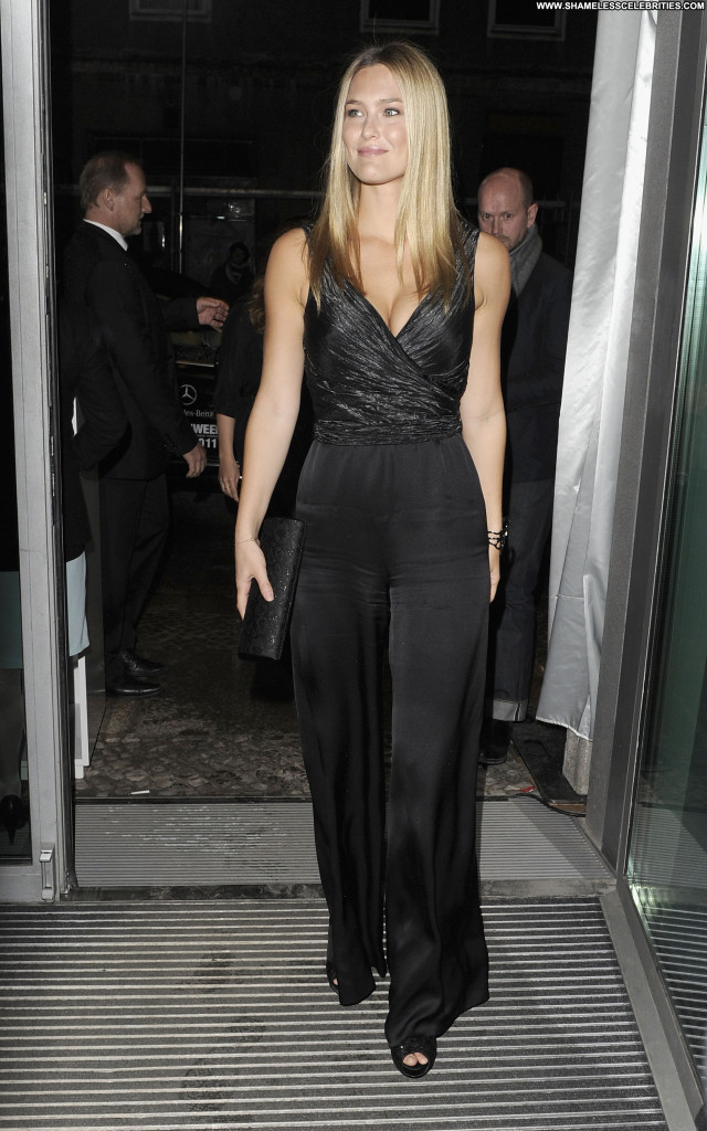 Carla Gugino Mercedes Benz Fashion Week Sport Posing Hot High