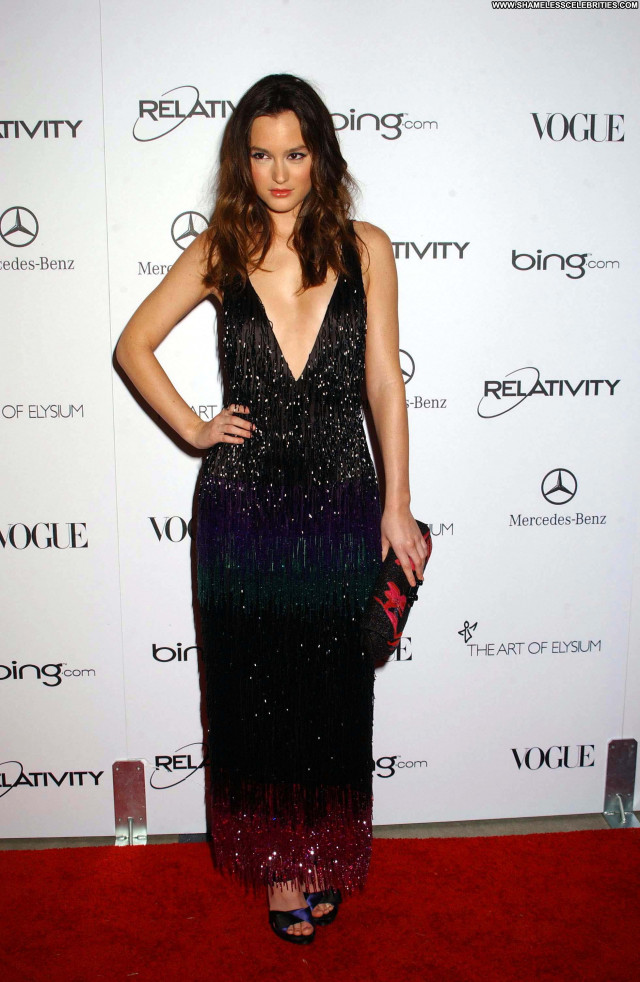 Leighton Meester Los Angeles Beautiful Celebrity Posing Hot High