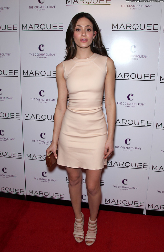 Emmy Rossum Nightclub In Las Vegas Beautiful Babe Posing Hot High