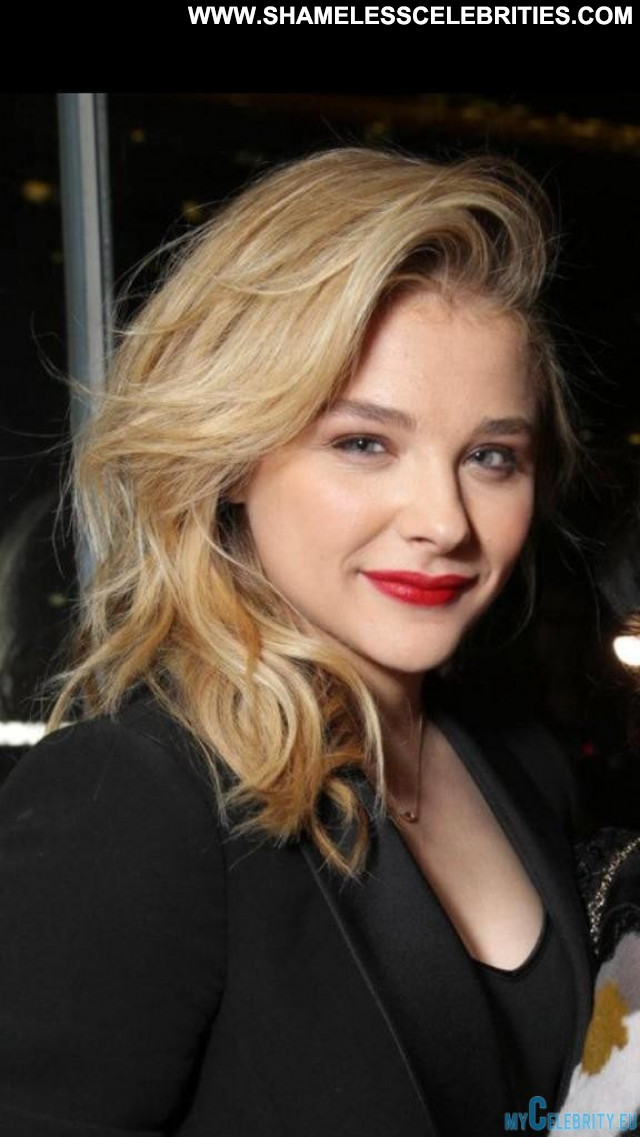 Chloe Moretz No Source Beautiful Celebrity Usa Posing Hot Party Babe