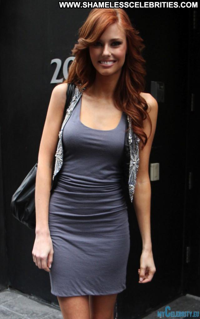 Alyssa Campanella No Source Posing Hot Cleavage Model Celebrity Sexy