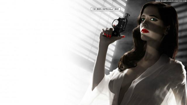 Eva Green Sin City Black See Through Babe Hot Posing Hot Celebrity
