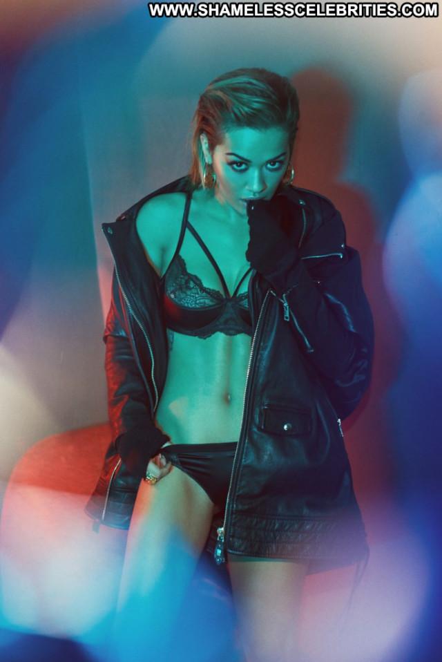 Rita Ora Vanity Fair Lingerie Sexy Posing Hot Babe Photoshoot