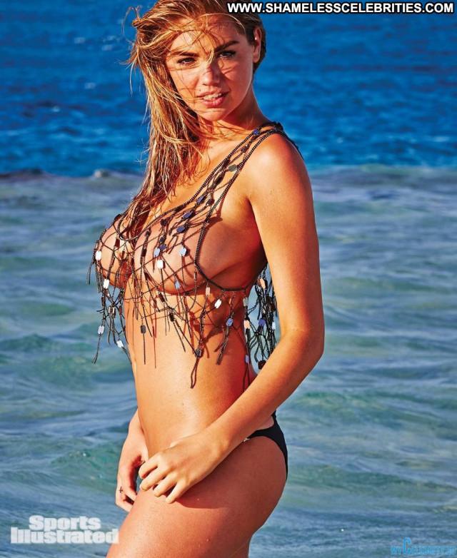 Nina Agdal Sports Illustrated Swimsuit Topless Posing Hot Beautiful