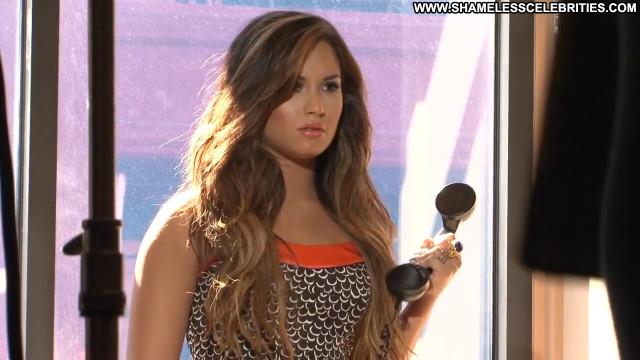 Demi Lovato Magazine Beautiful Celebrity Babe Magazine Posing Hot