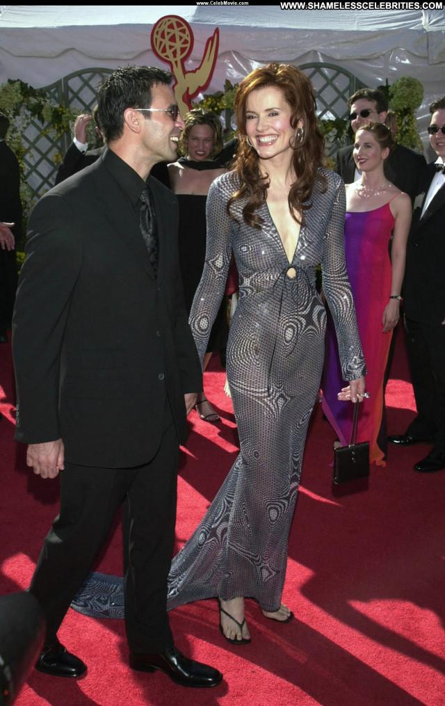 Geena Davis Primetime Emmy Awards Beautiful Babe Awards Posing Hot